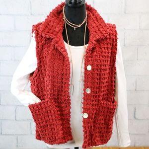 Vintage Chenille Vest